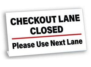 The Self-Checkout Salvation Aisle Is Closed - Broken Door Ministries